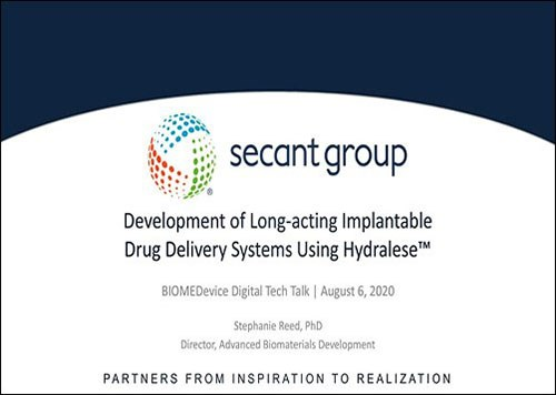 Development of Long-acting Implantable Drug Delivery Systems Using Hydralese™