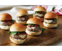 Lamb Burgers Sliders