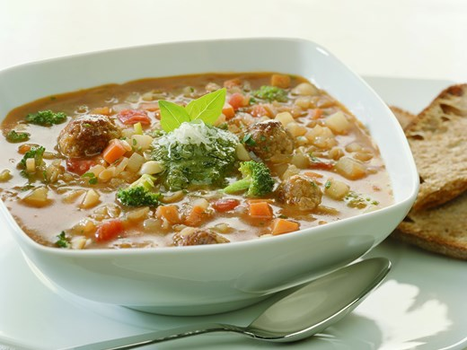 Hearty Italian-Style Veal Soup