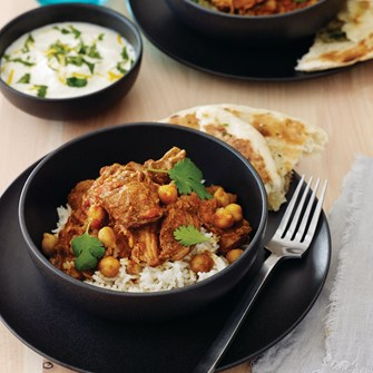 Indian-Spiced Lamb & Chickpea Curry