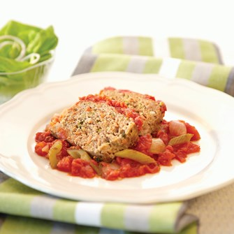 Meatloaf with Wheat Germ