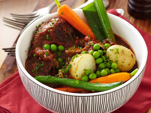 French-Style Lamb Ragout with Vegetables