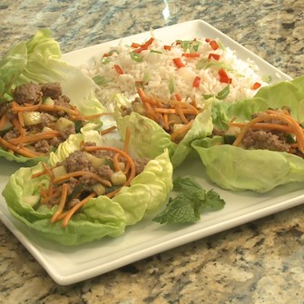 Asian Express Veal Lettuce Wraps
